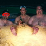 Hairy Hot Tub with Dildo and Golfer X